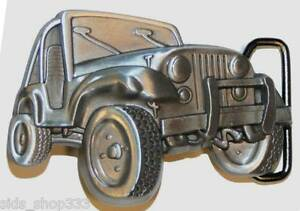 JEEP  4x4 Belt Buckle great gift antique silver color 3.75 inch x 2.5 inch