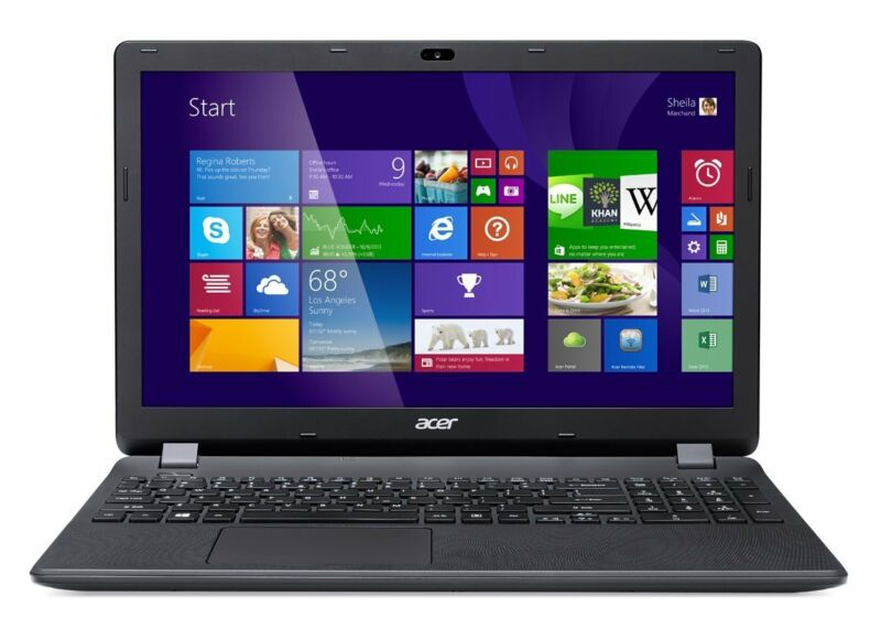 New Acer Aspire E 15 ES1-512-C88M 15.6-Inch Laptop (Diamond Black) +1Yr WARRANTY