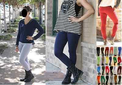 Color Skinny Jegging Stretchy Pants Jeans Soft Leggings