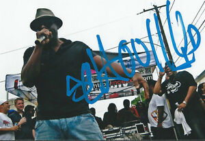 Schoolly-D-signed-PSK-Gangsta-Rap-Hip-Hop-Music-Rare-COA-LOOK