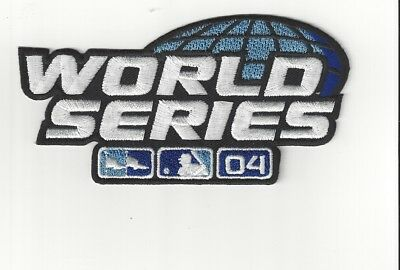 2004 World Series Sleeve Patch Boston Red Sox Cardinals 5