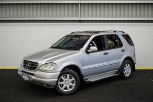 2000 Mercedes-Benz M-Class W163 MY2000 ML430 Luxury Silver 5 Speed Sports Automatic Wagon Canning Vale Canning Area Preview
