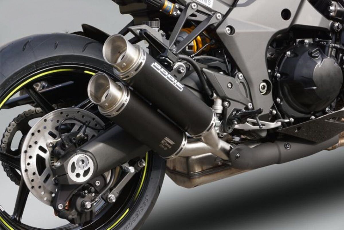 Kawasaki Z 1000/R/SX Modell 2017- Bodis Auspuff GPX2 NEU ...