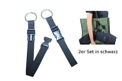 Jacked Gripper 2er Geschenkset - Gurt Rucksack Tasche Haltegurt Jackenhalter neu