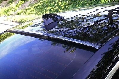 For 2007-2012 MAZDA 6 Sedan Carbon Look Rear Window Roof Spoiler