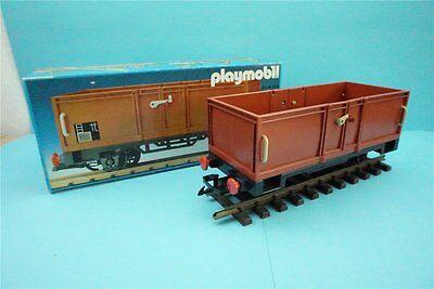 Playmobil Eisenbahn 4110 in OVP, Offener Güterwagen, Güterwaggon, Hochbordwaggon