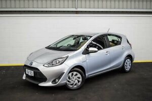 2019 Toyota Prius c NHP10R E-CVT Silver 1 Speed Constant Variable Hatchback Hybrid Canning Vale Canning Area Preview