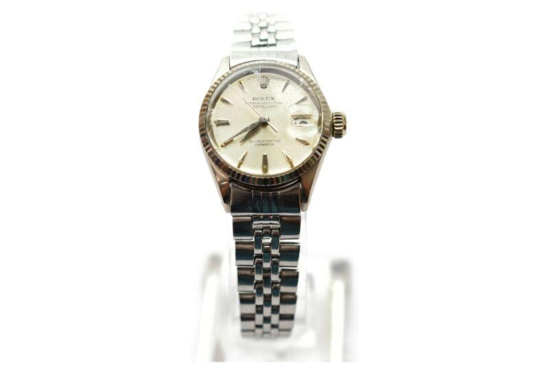 Rolex Watch datejust Wgbezel 6517 24mm Automatic  Women's   Silver 1702433