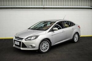 2012 Ford Focus LW Sport PwrShift Silver 6 Speed Sports Automatic Dual Clutch Sedan Canning Vale Canning Area Preview