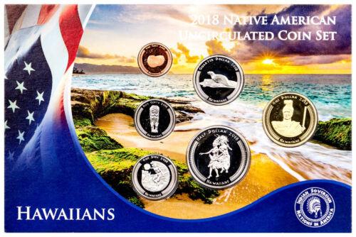 2018 Native American Hawaiian Tribe 6-Coin Set GEM BU SKU53498