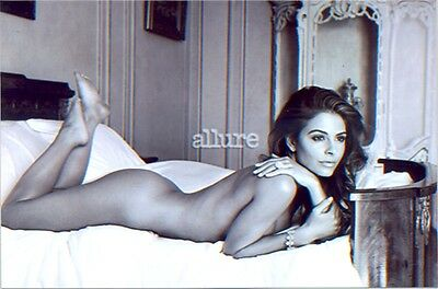 MARIA MENOUNOS - LYING ON A BED TOTALLY NUDE !!!!!