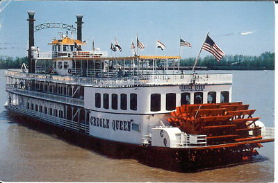 USA: Creole Queen Riverboat, New Orleans, Louisiana - Posted 1996
