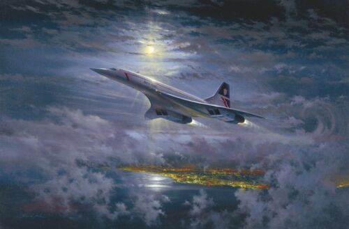 Speedbird by Simon Atack - signed by Concorde Pilots