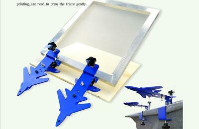Used- Desktop Screen Printing Clamp Simple Press Machine Butterfly Clamp