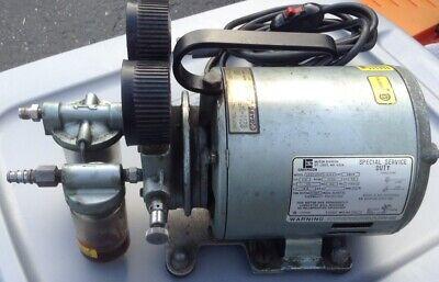 Gast Emerson Vacuum Pumprotary Vane16 Hp20 In Hg Gast 0211-v45f-g8cx