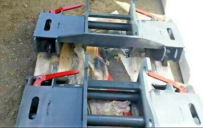 Budd Skytrak Jlg Telehandler To Skid Steer Quick Attach Adapter Hd 8042 6036 New