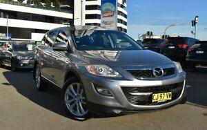 2012 Mazda CX-9 TB Series 4 Luxury Wagon 7st 5dr Spts Auto 6sp 4WD 3.7i (+Sa Grey Sports Automatic