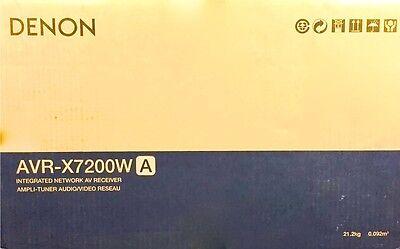 NEW! DENON AVR-X7200WA RECEIVER 9.2CH RECEIVER 4K ULTRA HD WI-FI AVRX7200WA
