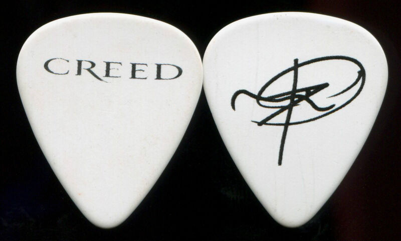 CREED  2010 Full Circle Tour Guitar Pick!! MARK TREMONTI custom concert stage #1