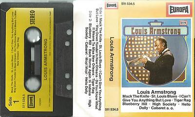 Q MC Kassette Louis Armstrong / Europa Germany