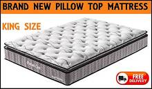 KING Size PILLOW TOP Mattress Brand New and DELIVERED FREE New Farm Brisbane North East Preview