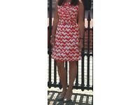 Kate Spade dress - 100% silk dress. UK size: 8-10. Ideal as a wedding outfit in early Autumn