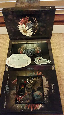 2014 -2017  Electric Daisy Carnival EDC Las Vegas Collector's Box - No tickets