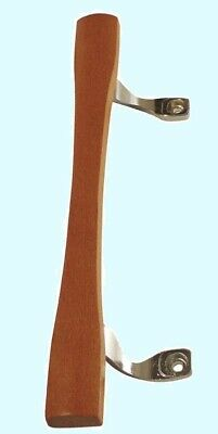 Sliding Patio Door Handle Replacement  Wood w/ Chrome Brackets  10