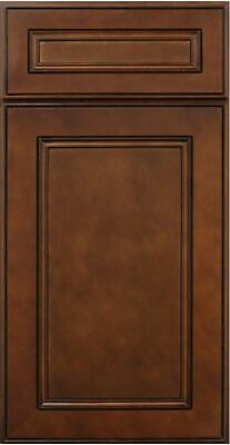 York Chocolate Kitchen Cabinets-SAMPLE DOOR RTA-All wood, IN STOCK-QUICK SHIP
