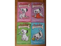 Puddles the Naughtiest Puppy by Hayley Daze. Set of 4 paperbacks