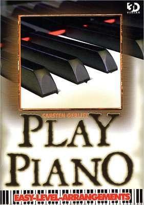 Klavier Noten -  PLAY PIANO - EASY LEVEL ARRANGEMENTS -  20 TOP-HITS -