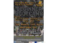 FREE BEGINNER BOOTCAMP FITNESS CLASS