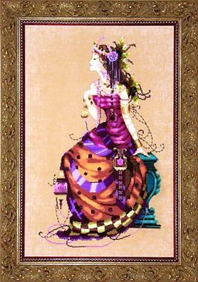 """SALE! COMPLETE XSTITCH KIT """"THE GYPSY QUEEN MD142"""" by Mirabilia"""