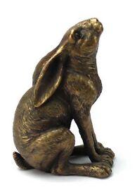 Bronze coloured Gazing Hare