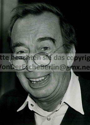 STARS: Harry WÜSTENHAGEN Schaupieler - OriginalFoto VINTAGE FOTO: Ingo BARTH