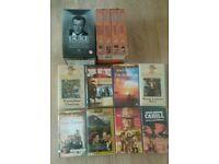16 John Wayne Videos (VHS)