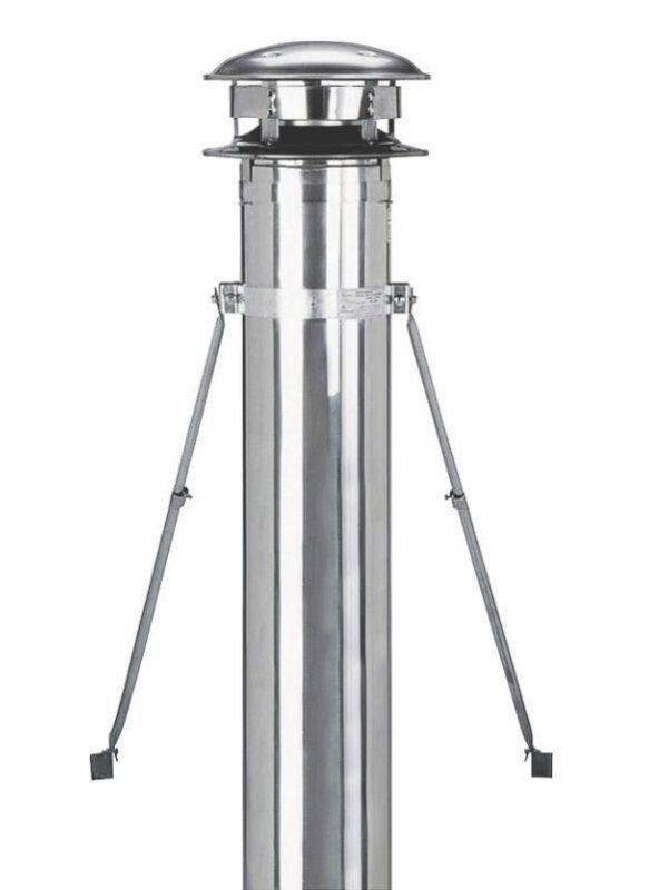 "Selkirk 206440 6"" 6T-RBK Chimney Pipe Support Roof Brace Bracing Kit"