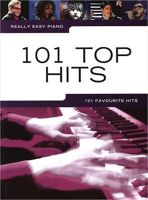 Klavier Noten - 101 TOP HITS - REALLY EASY PIANO