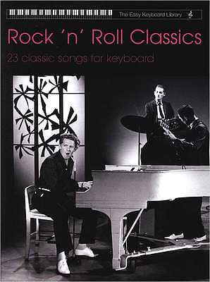 Keyboard Noten - ROCK ´N´ROLL CLASSICS- 23 classic songs  - leicht spielbar
