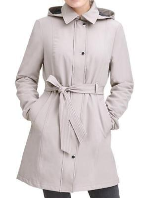 Marc New York Women's Soft Shell Trench Coat W/ Mesh, Size S, Thistle, MSPR $200 Soft Shell Trench