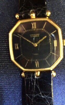 Unique VAN CLEEF & ARPELS 18K GOLD  OCTAGONAL  WATCH MANUAL WIND  THIN VINTAGE