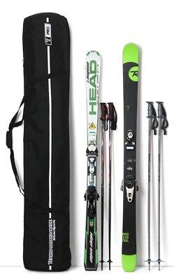 Skisport- & Snowboardtaschen SKISACK SKIBAG SKITASCHE  ASPEN  silver/blue  170 cm   ...NEU NEU  NEU Zubehör