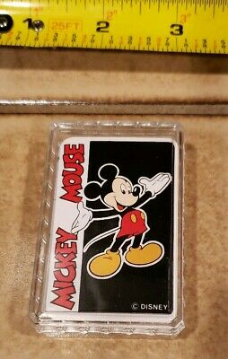 Vintage Mickey Mini Deck Of Cards