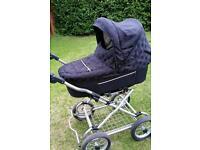 Babystyle pram and car seat