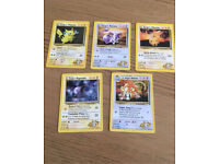 Pokemon Cards - Gym heros set