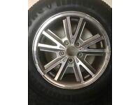 Mustang Wheels + Tyres x2 215/65R16