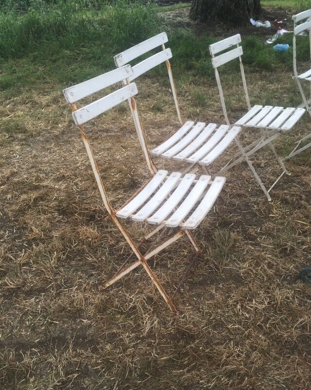 French Garden Chairs In Stroud Gloucestershire Gumtree