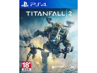 New Titanfall2 ps4