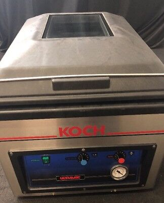 Usado, KOCH Ultravac Vacuum Bag Sealer UV225 Vacuum Chamber Packaging Good Condition  comprar usado  Enviando para Brazil