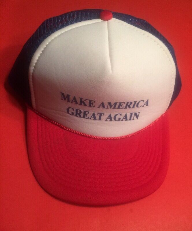 US PRESIDENT DONALD TRUMP Make America Great Again Baseball Hat Cap Snap Back